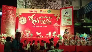 Sushi Đăng Khôi và em trai hát Hạt Gạo Làng Ta - Xuân Yêu Thương - Bệnh Viện Ung Bướu - 20200118