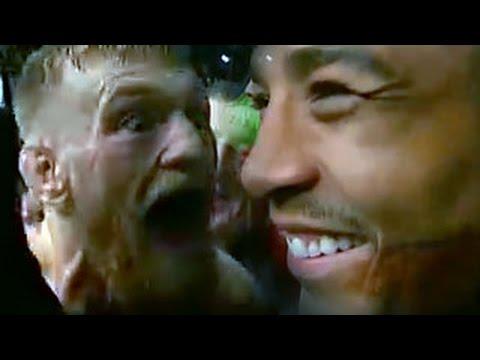 Conor McGregor Confronts Jose Aldo At UFC Fight Night 59