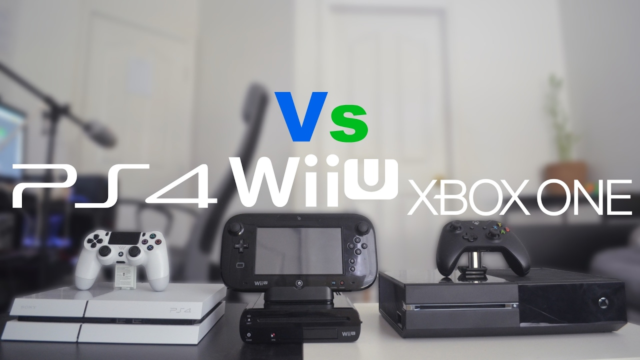 PlayStation 4 Vs Xbox One Vs Wii U - 4 Years Later - YouTube Xbox 360 Vs Ps3 Vs Wii
