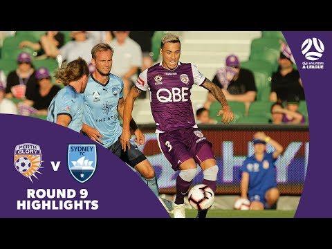 Hyundai A-League 2018/19 Round 9: Perth Glory 1 -2 Sydney FC