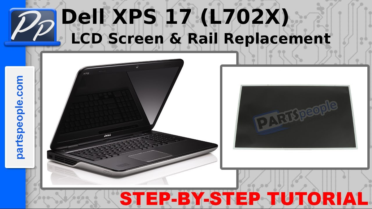 L702X Dell XPS 17 Laptop Screen 17.3 LED BOTTOM LEFT WXGA++