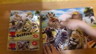 SUPER 3D PUZZLE AFRICA. Огляд, збираємо 3D пазли Африка.