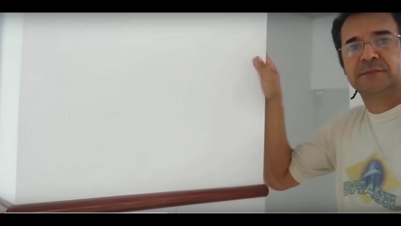 Madeira Na Parede ~ Como fixar molduras de madeira na parede! YouTube