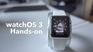watchOS 3: hands-on + new features