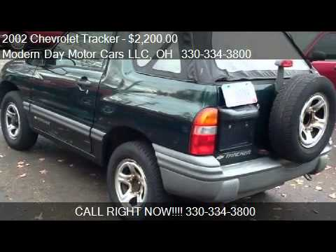 Wadsworth Motor Cars >> 2002 Chevrolet Tracker 2-Door Convertible 4WD - for sale in - YouTube