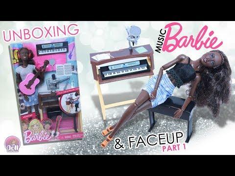 African American Musician Barbie Review & Repaint Reveal!