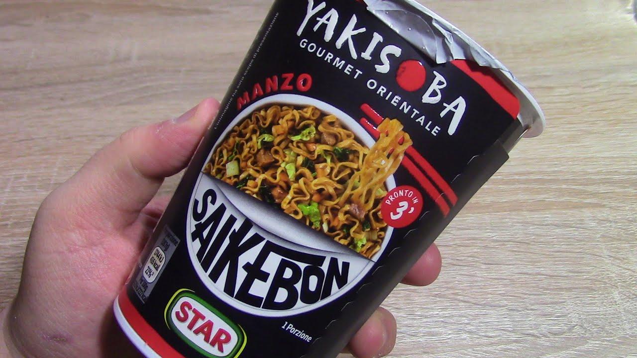 noodles giapponesi saikebon yakisoba star cosa sono primo ForCucinare Yakisoba