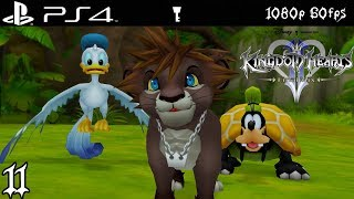 [PS4 1080p 60fps] Kingdom Hearts 2 Walkthrough 11 Pride Lands - KH HD 1.5 + 2.5 Remix