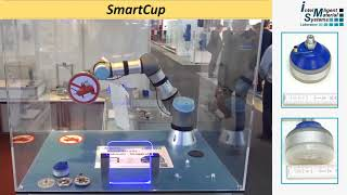 SmartCup - Shape Memory Alloy driven Bistable Suction Cup