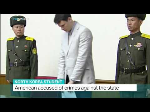 American student accused of crimes against the state in North Korea