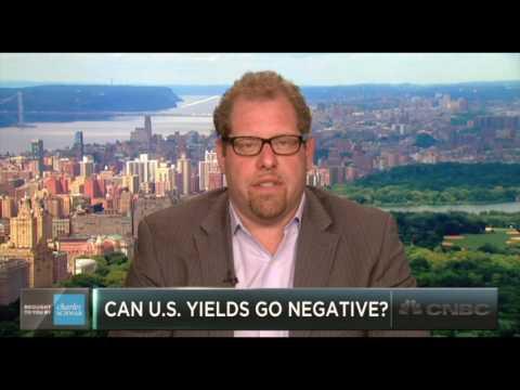 Will U.S. Treasury yields go negative?