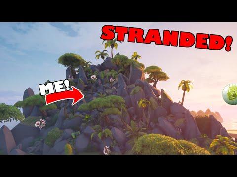 I was STRANDED on a HUGE DEATH FILLED ISLAND! | Hub Games |