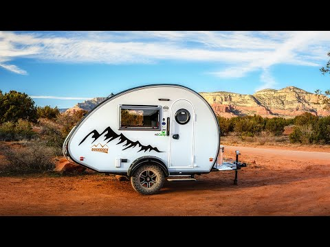The 2021 TAB 320 Teardrop Camper by nuCamp