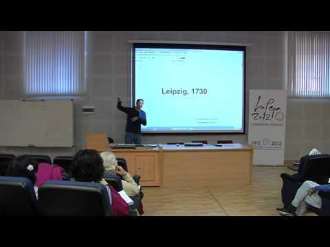 """II Seminario Permanente Campus Clásica Lección """"Leipzig 1730"""" Luis Gago 1ª Parte"""