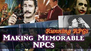 Making Memorable NPCs