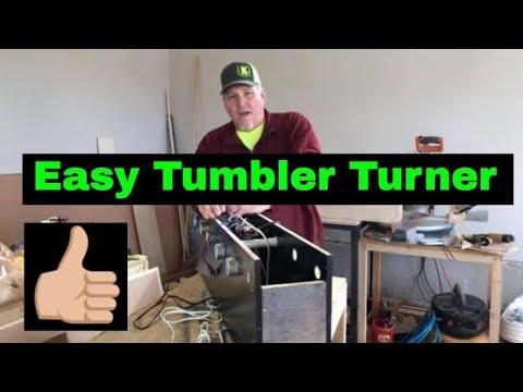 Easy To Make Tumbler Turner Cheaper than Etsy!!!  #DIY