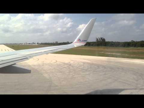 Grand Cayman Island Flight Landing