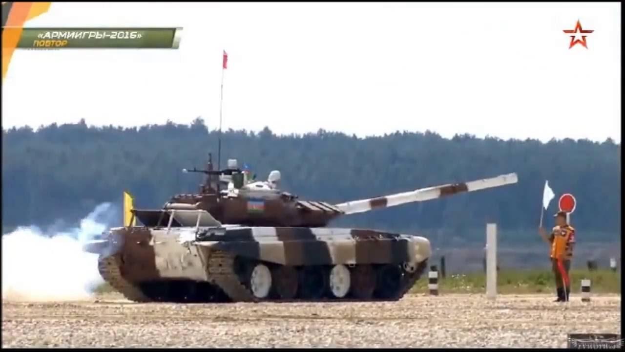 Tank biathlon 2016