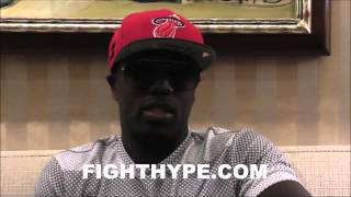 ANDRE BERTO MOTIVATED TO BE UNDERDOG; SAYS HE