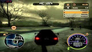 nfs most wanted  misterios(UBICACION) Y ROMPER MAPA