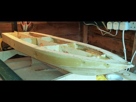 RC Boat -  Homemade - Part 7 - Fibreglassing