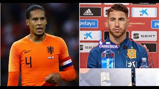 Virgil van Dijk gives his opinion on Sergio Ramos' defensive ability