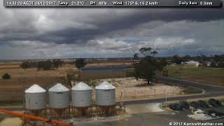 4 December 2017 - East Facing WeatherCam Timelapse