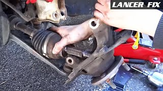 Lancer Fix 23 | FL Bearing, FR Axle