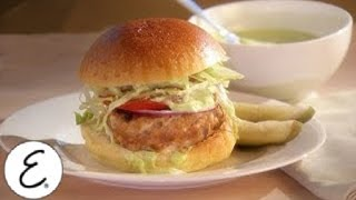 Turkey Burgers With Cilantro-lime Mayonnaise - Emeril Lagasse
