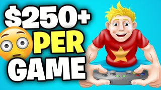 Make $250 Instantly Playing Games  Make Money Online