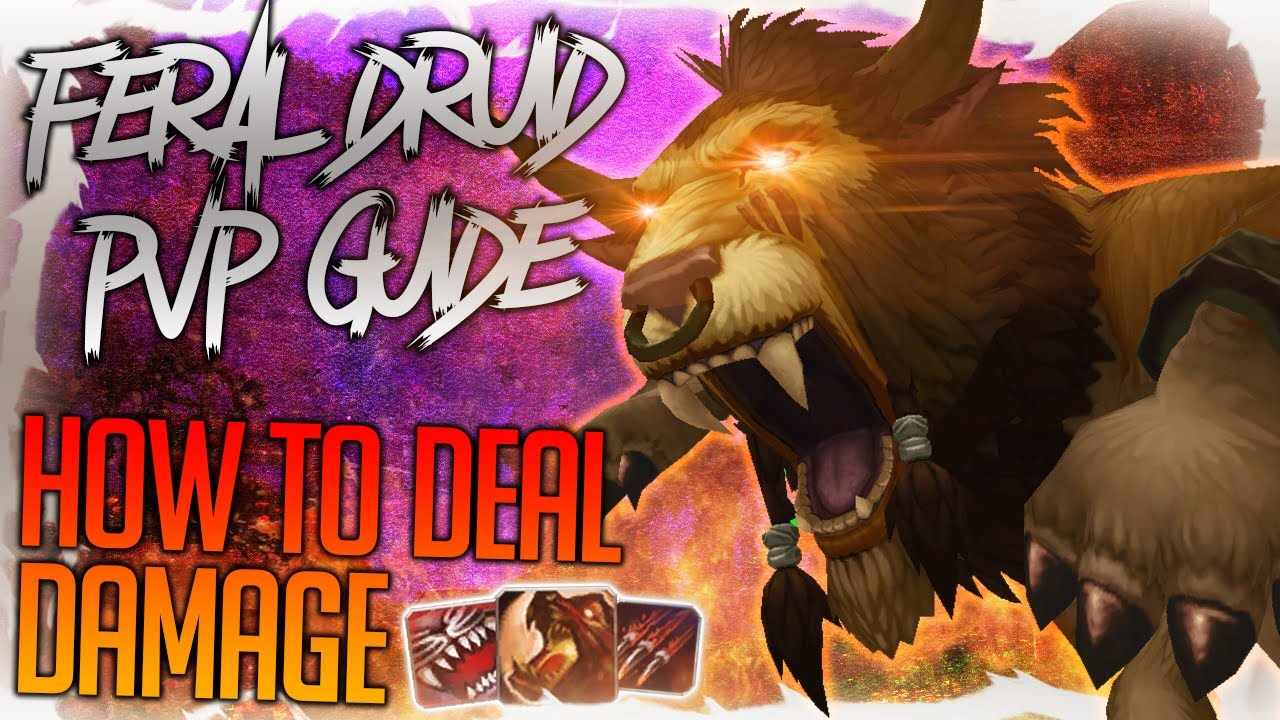 How to Deal Damage as a Feral Druid in PvP - World of Warcraft: Shadowlands 9.0 Guide