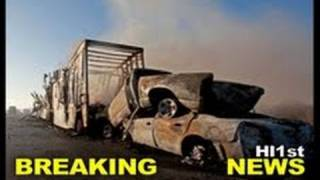 At Least 10 dead in Florida Pileup Interstate 75 Car Crashes -- News Story