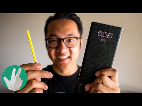 Finally did it! A black and yellow Galaxy Note 9!