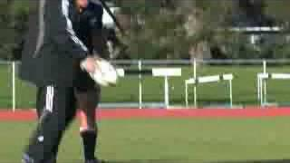 All Blacks play touch Rugby