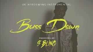 """buss Down"" Uk Afro Swing Instrumental | Not3s X Mist X Belly Squad X"