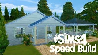 Sims 4 Speed Build   Dom ze szklarnią