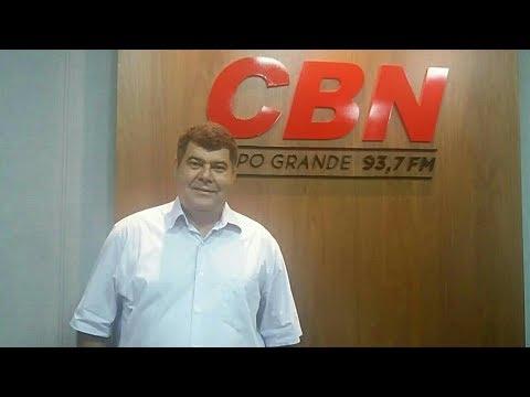 Entrevista CBN Campo Grande: Jaime Teixeira, presidente da Fetems