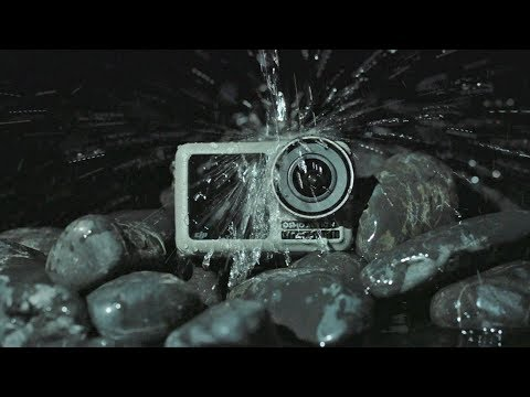 DJI Osmo Action unboxing大疆新品运动相机开箱体验