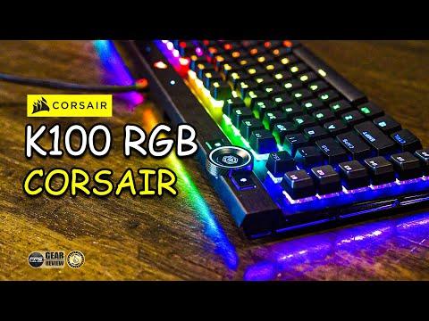 Review : Corsair K100 RGB Keyboard Gaming อัจฉริยะ !!