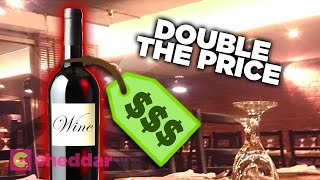 Expert Explains Why Wine Costs So Much More At Restaurants - Cheddar Explains