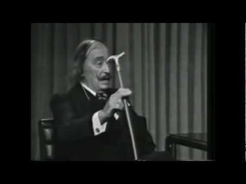 Dalí hablando de Joan Miró y el Arte