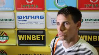 SportenPlovdivTV: Бирсент Карагарен: Искахме повече победата