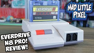 NEW Everdrive N8 Pro Famicom/NES Flash Cart Review! In Game Menu, 16MB Rom Memory & More!