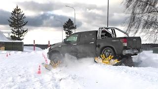 Обзор Гусениц Trackngo на Toyota Tundra