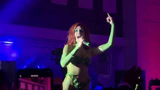 "Halsey ""Without Me"" Gotham City Halloween Party"