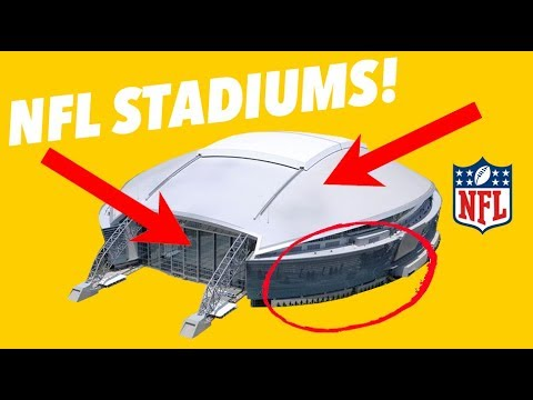 CRITIQUING EVERY NFL STADIUM - SECRETS AND HIDDEN GEMS