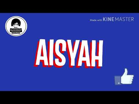 ECKO SHOW Ft VITA ALVIA - AISYAH CINTA JAMILAH (OFFICIAL LYRIC VIDEO)