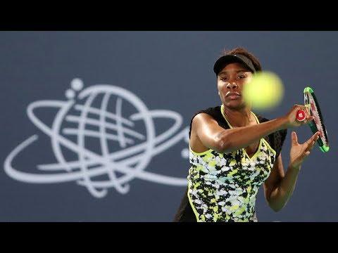 Serena Williams vs Venus Williams - Abu Dhabi 2018 Highlights