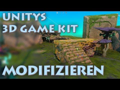 In Unity das 3D Game Kit modifizieren