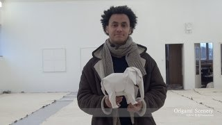 WHITE ELEPHANT Origami, Sipho Mabona SWITZERLAND 折り紙 Part 1